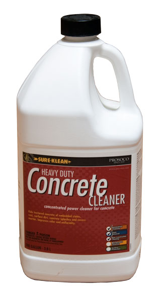 Heavy duty concrete cleaner pacific concrete images for Spray on concrete cleaner